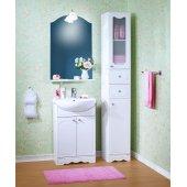 Комплект мебели для ванной Бриклаер Лючия 55